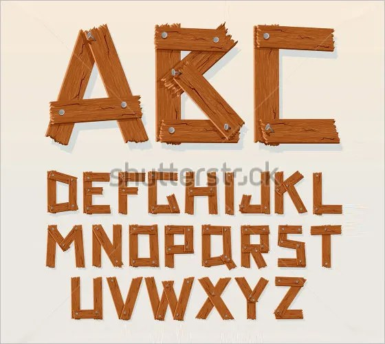 25+ Wooden Alphabet Letters - Free Alphabet Letters Download Free
