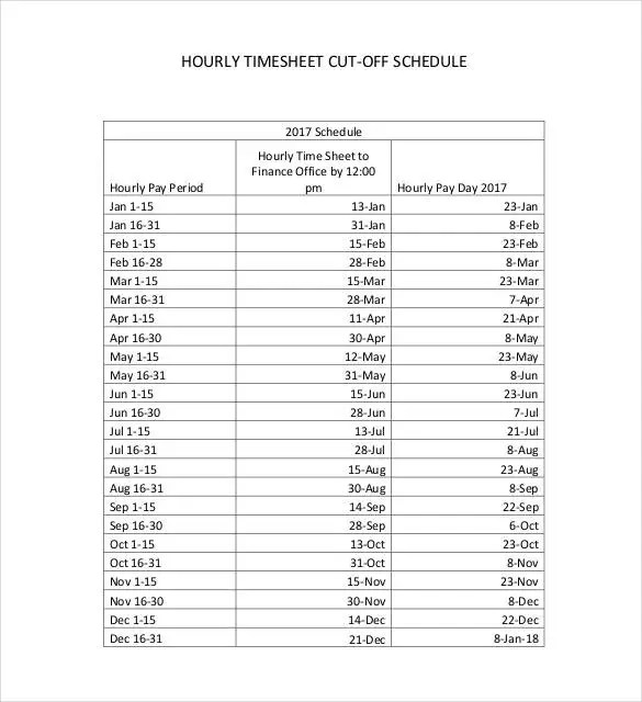 Hourly Schedule Template 30 Free Word Excel Pdf Hourly Schedule Template 25 Free Word Excel Pdf
