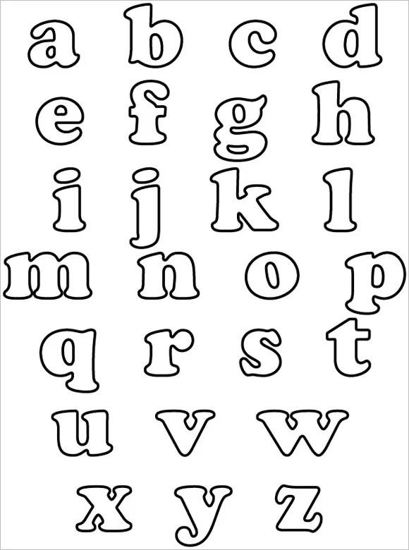 30+ Alphabet Bubble Letters - Free Alphabet Templates Free