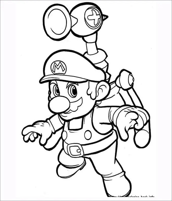 Mario Coloring Pages - Free Coloring Pages Free  Premium Templates - mario coloring pages