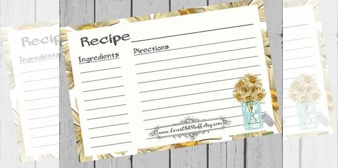 43+ Amazing Blank Recipe Templates for Enterprising Chefs - PDF, DOC