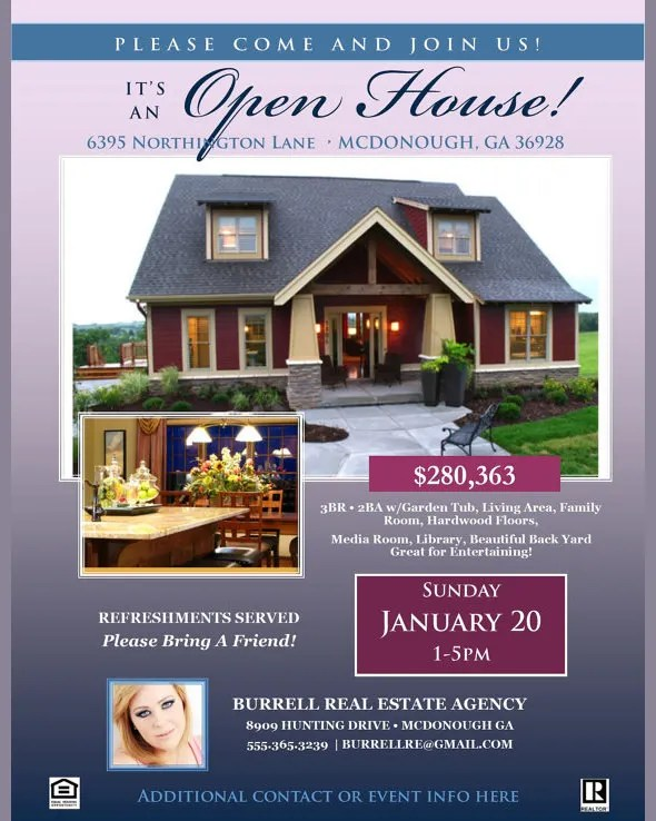 Open House Flyer Template u2013 30+ Free PSD Format Download Free - house flyer template