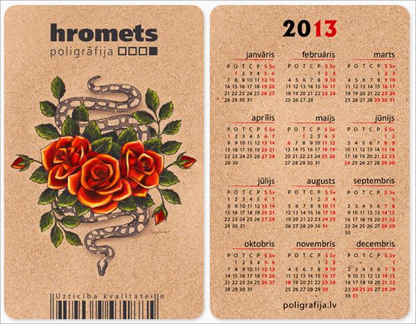 23+ Pocket Calendar Templates - Free PSD, Vector EPS, PNG Format