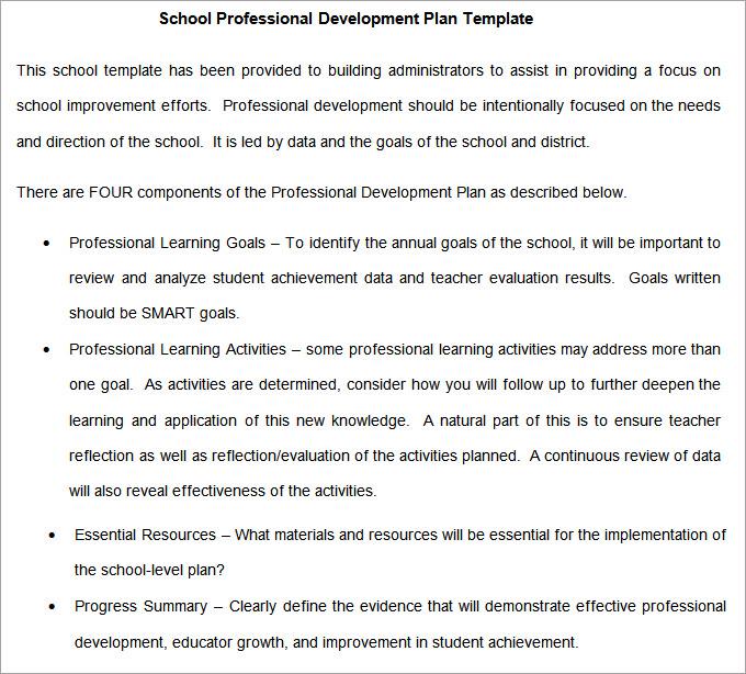 School Development Plan - 8+ Free Word Documents Download Free