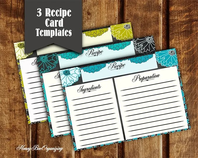 Amazing Blank Recipe Template - 43+ Examples in PDF, Word, PSD, PPT