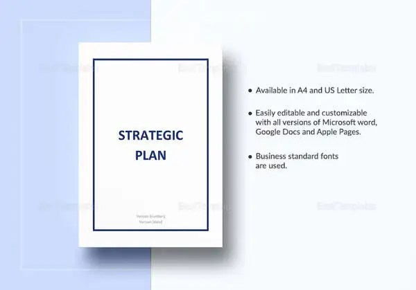 Strategic Account Plan Template - 8+ Free Word, PDF Documents