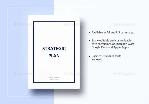 Strategic Account Plan Template - 8+ Free Word, PDF Documents - microsoft strategic plan