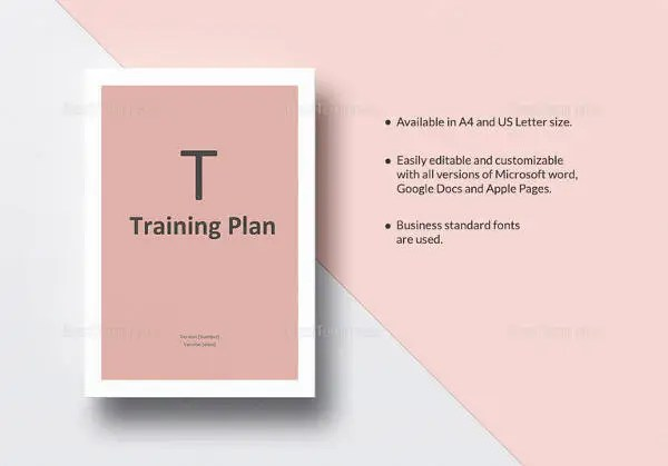 Training Plan Template - 23+ Free PDF Documents Download Free