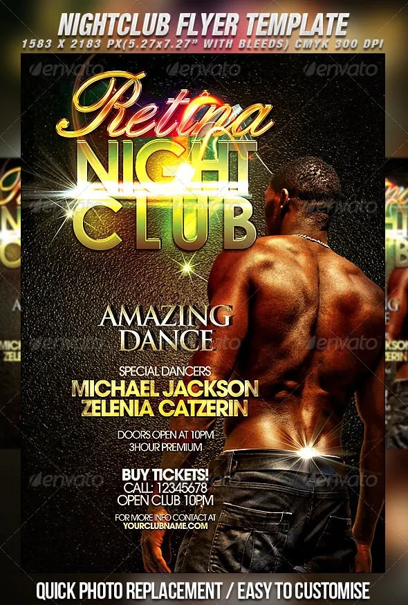 30+ Fabulous Night Club Flyer Templates  PSD Designs! Free