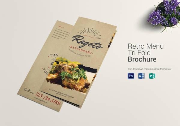 menu brochure template - Canasbergdorfbib