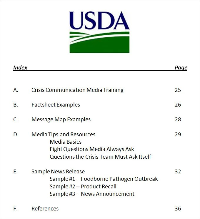 Crisis Communication Plan Template - 4+ Free Word Documents Download - crisis communications plan examples