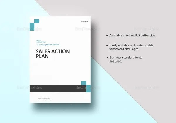 27+ Sales Action Plan Templates - DOC, PDF, PPT Free  Premium