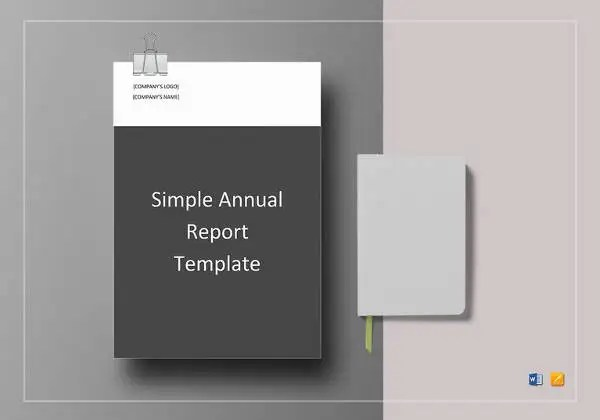 Annual Report Template - 40+ Free Word, PDF Documents Download - annual report template design