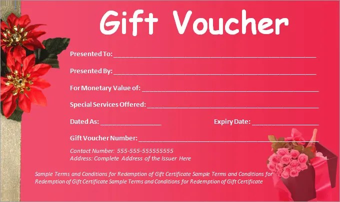 voucher template word - Boatjeremyeaton - gift certificate word