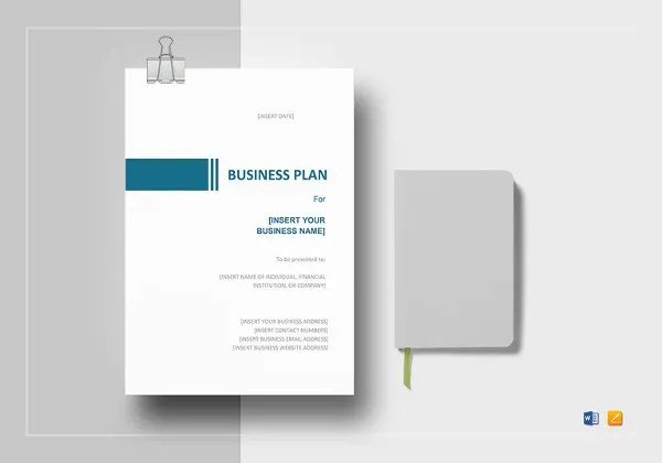 One-Page Business Plan Template - 14+ Free Word, PDF Documents