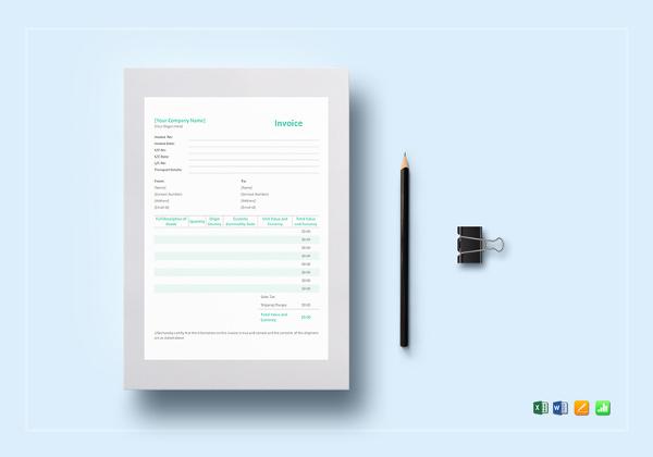 15+ Proforma Invoice Templates - PDF, DOC, Excel Free  Premium
