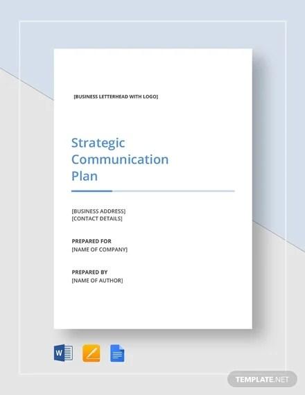 21+ Communication Plan Templates - PDF, DOC Free  Premium Templates
