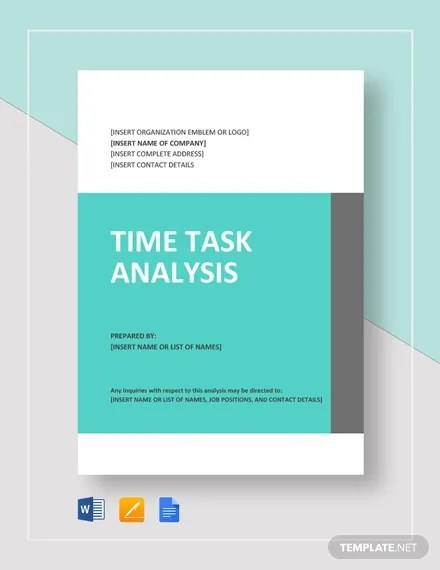 13+ Task Analysis Templates  Samples - DOC, PDF Free  Premium