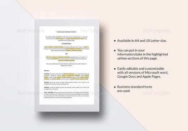 Simple Rental Agreement - 34+ Examples in PDF, Word Free  Premium