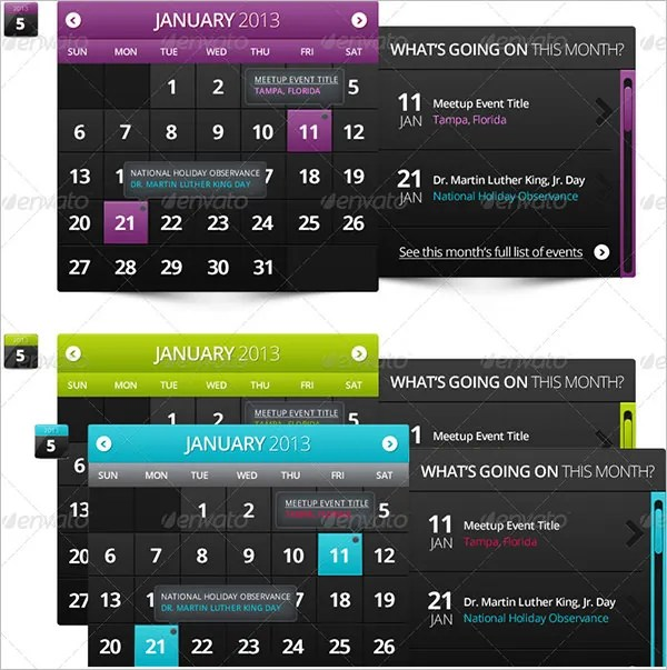 Event Calendar Templates - Free Download Free  Premium Templates - event calendar templates