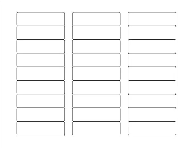Blank Labels, Blank Label Template Free  Premium Templates