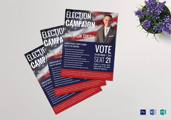 16+ Political Flyers - Free PSD, EPS, AI Format Download Free