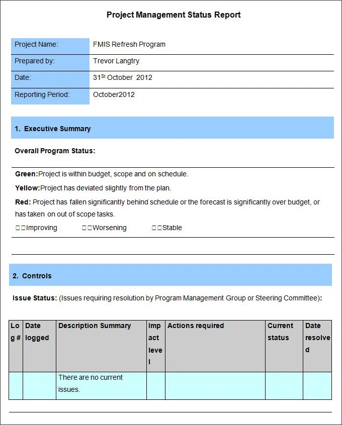 Management Report Templates - 33+ Word, PDF, Apple Pages, Google