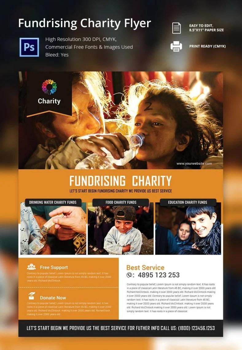 Free Fundraiser Flyer Templates – Fundraiser Flyer Template