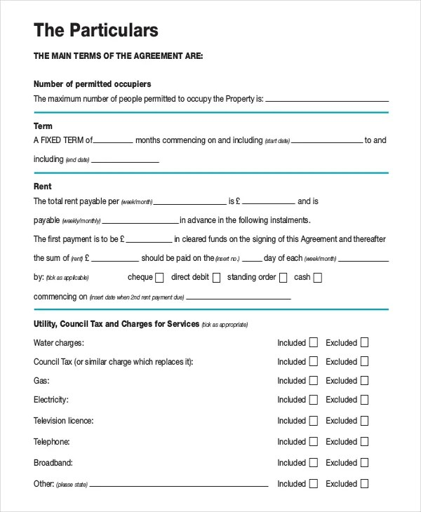 10+ Month to Month Rental Agreement \u2013 Free Sample, Example Format - month to month lease agreement example