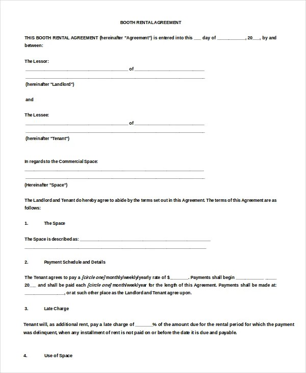 19+ Rental Lease Agreement - Free Sample, Example Format Download
