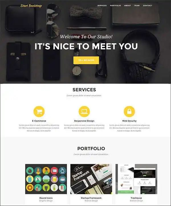 php page layout template