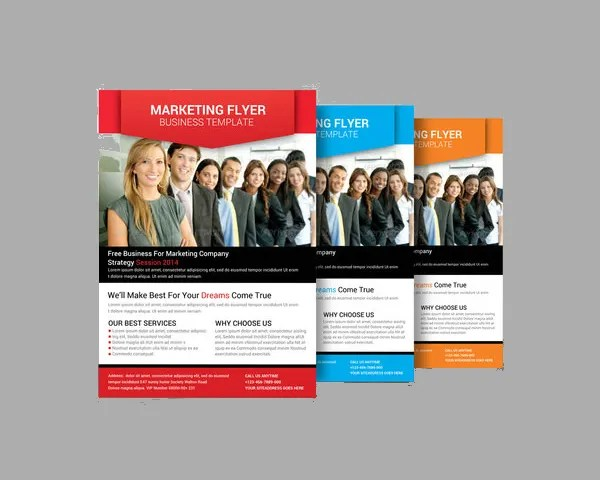 17+ Marketing Flyer Template - Free PSD, EPS Documents Download