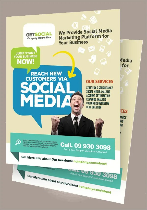 Marketing Flyer Template 15 Marketing Flyer Templates Free Sample