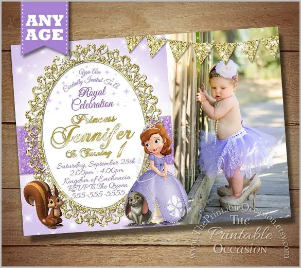Free First Birthday Party Invitation Cards - Wedding Invitation Sample - free first birthday invitation template