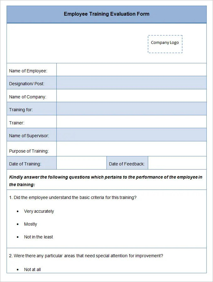 Sample Evaluation Forms Template Speaker Evaluation Form Template