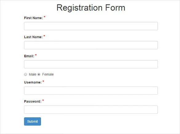 15+ Best PHP Registration Form TemplatesFree  Premium Themes