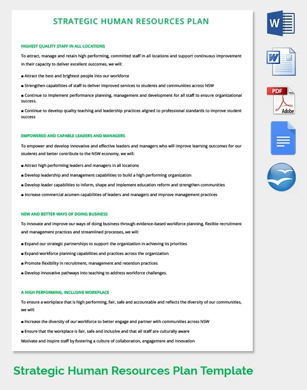 26+ HR Strategy Templates - Free Sample, Example, Format Free