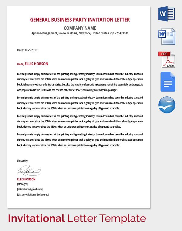 Kids Birthday Party Invitation Letter Sample Birthday Invitation - birthday invitation letter sample