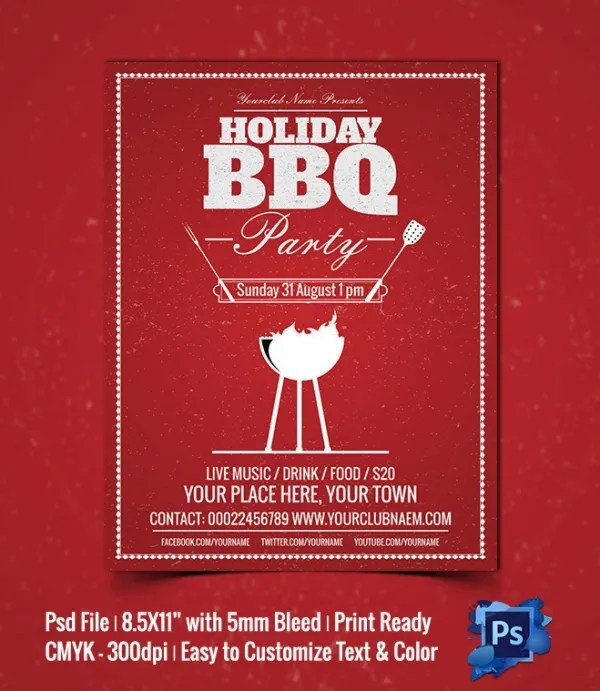 Holiday Party Flyer Template - free holiday flyer templates word