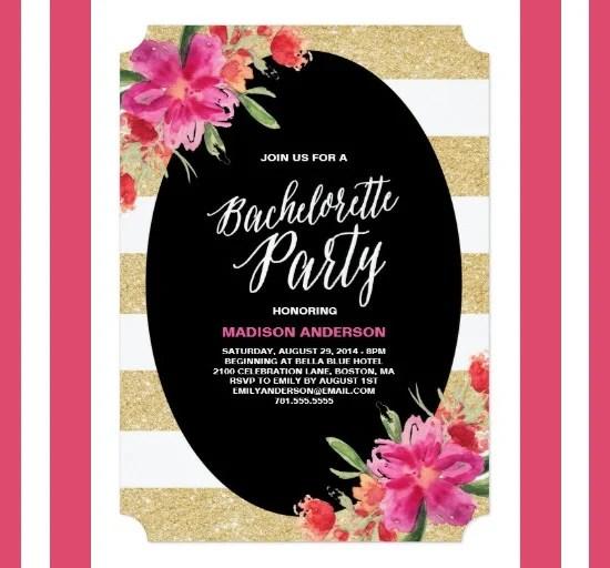 41+ Bachelorette Invitation Templates - PSD, AI Free  Premium