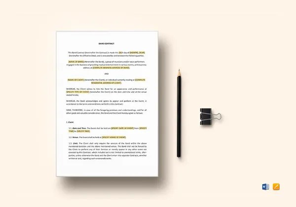 Coaching Contract Template - 7+ Free Word, PDF Documents Download