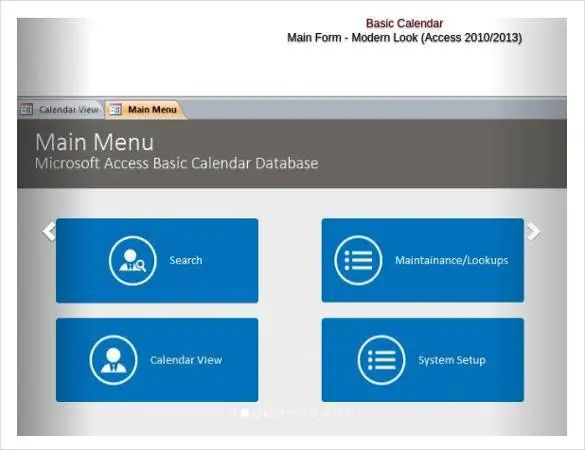 access invoice database