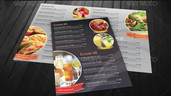 Food Menu Template - 36+ Free Word, PDF, PSD, EPS, InDesign Format - food menu template