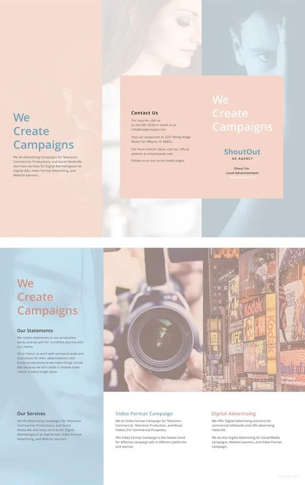 19+ Modern Blank Brochure PSD Templates Free  Premium Templates - free blank flyer templates
