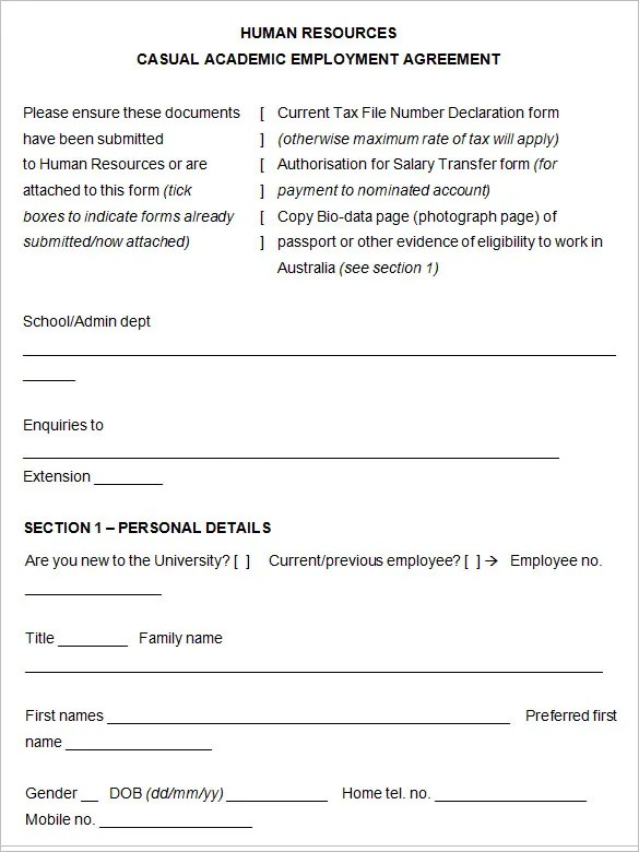 23+ HR Contract Templates HR Templates Free  Premium Templates