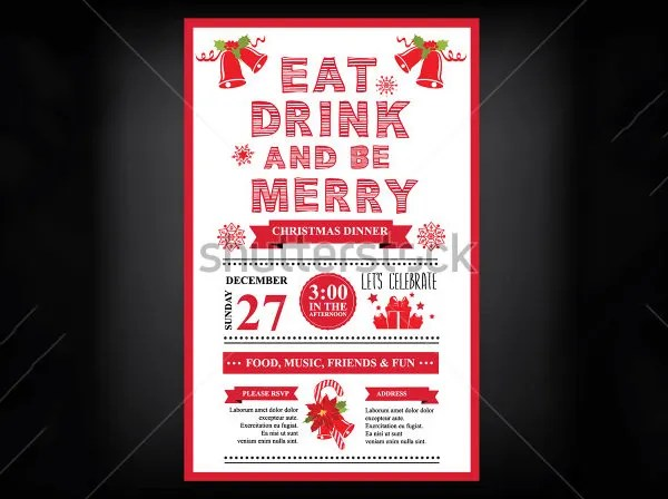 Party Invitation Template \u2013 31+ Free PSD, Vector EPS, AI, Format - free christmas party templates invitations