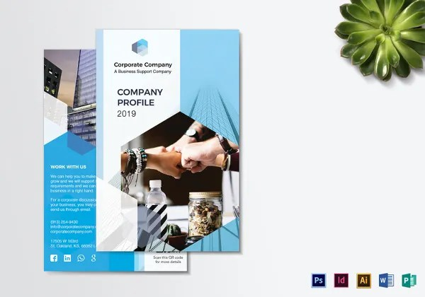 37+ Corporate Brochure Templates PSD Designs Free  Premium Templates - Company Brochure Templates