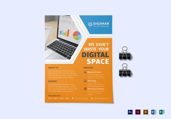 24+ Marketing Flyer Templates - Word, PSD, EPS , AI Free  Premium