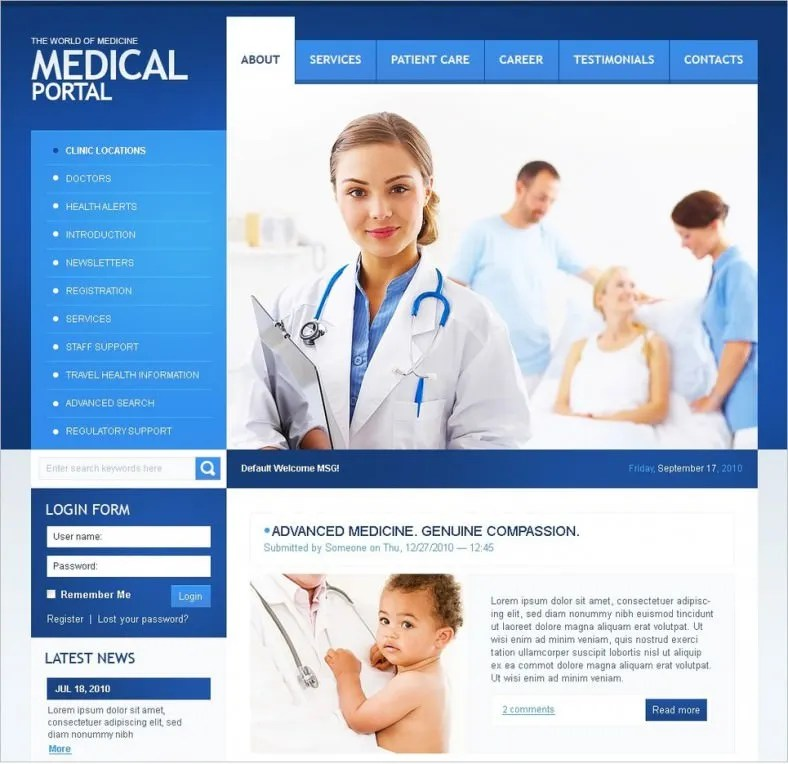 doctor template - Nisatasj-plus