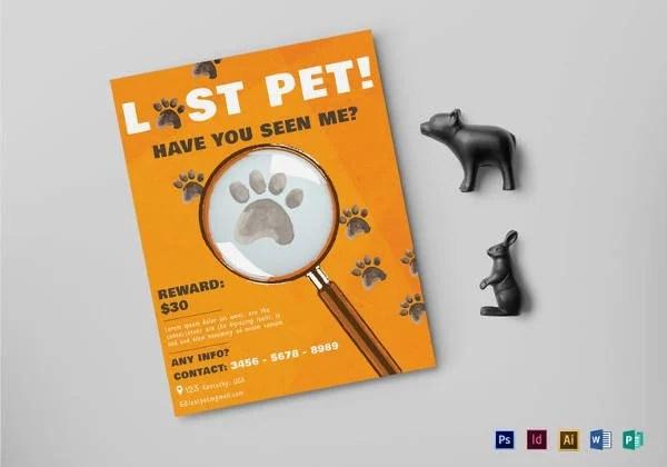 13+ PSD Lost Dog Flyer Templates Free  Premium Templates - lost pet flyer template free